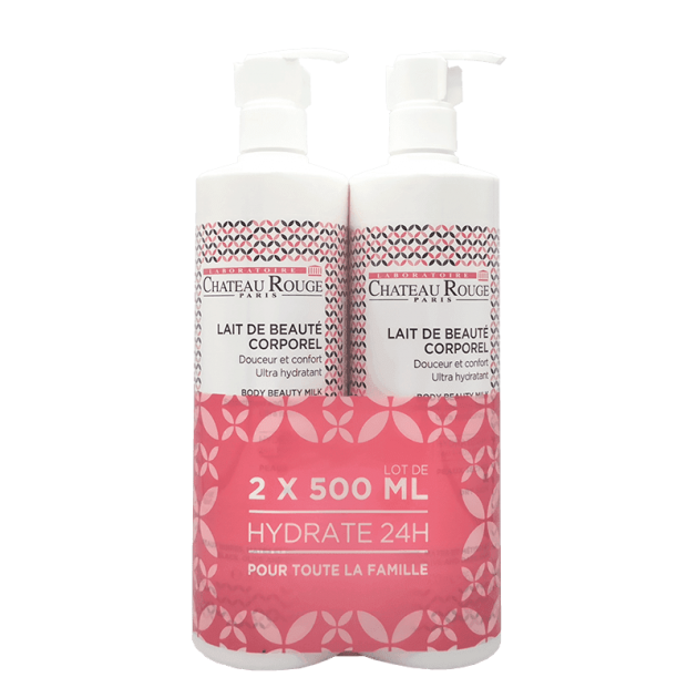 "LOT DE 2 ""LAIT ULTRA HYDRATANT"" 500 ml"